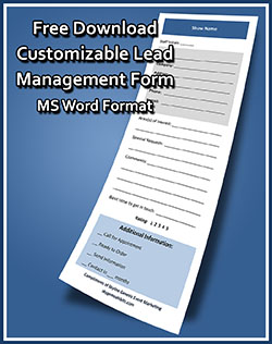 Trade Show Lead Management Form
